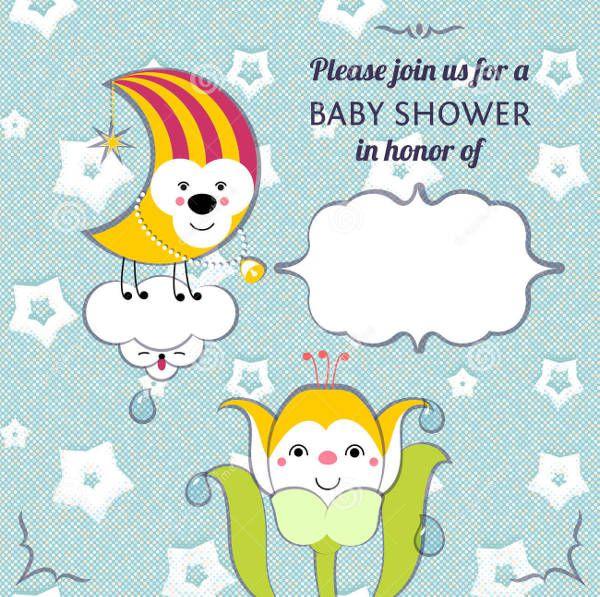 Funny Boy Baby Shower Invitation