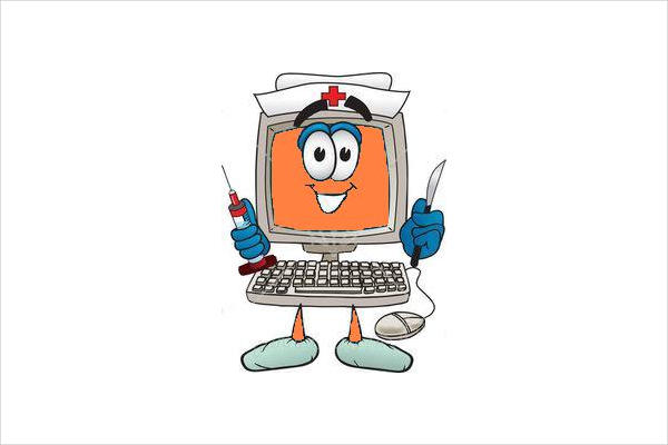 Funny Computer Clipart