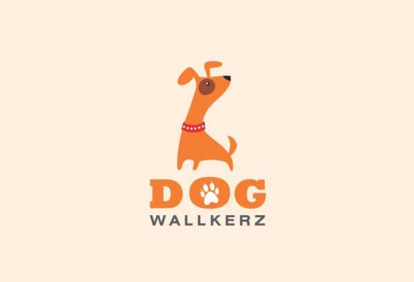 Funny Dog Famous Logo