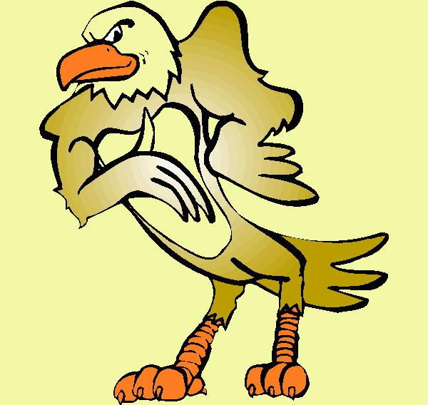 Funny Eagle Clipart