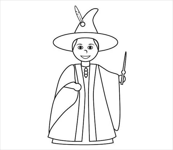 funny finished coloring book pages | 8+ Harry Potter Coloring Pages - JPG, Ai Illustrator Download