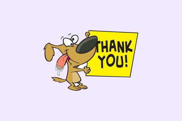 Funny Thank You Clipart