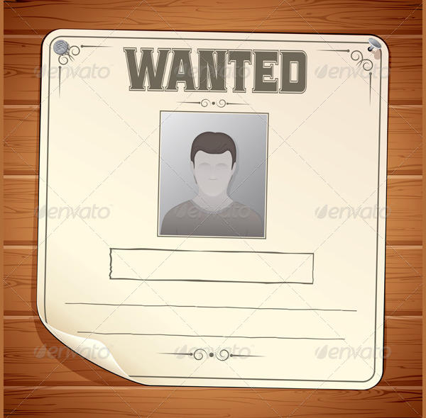 Funny Wanted Poster