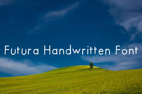 Futura Handwritten Font