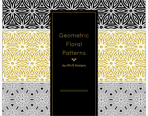 Geometric Floral Patterns