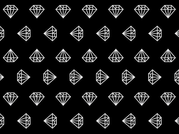 Gradient Diamond Pattern