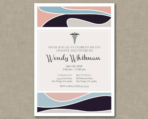 9 Graduation Invitation Design JPG Vector EPS Ai Illustrator
