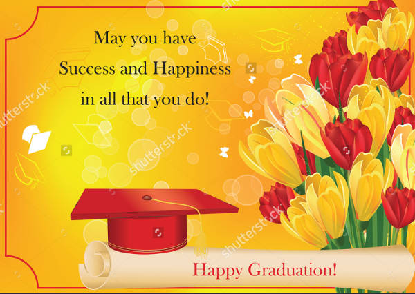 Graduation Greeting Card Design