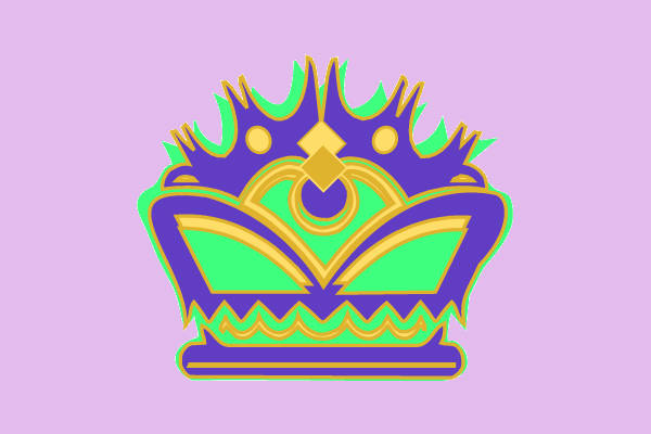 Graphic Crown Clip Art