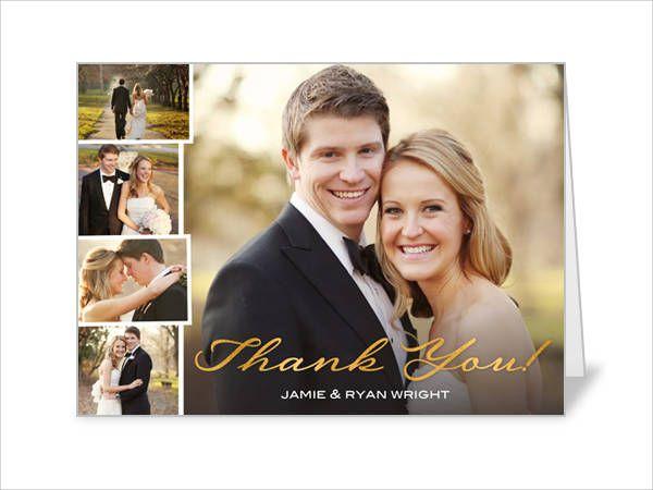 Gratitude Photo Thank You Card