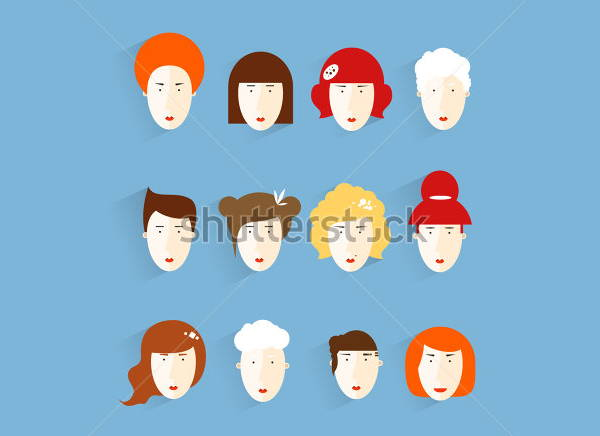 Group of People Icons