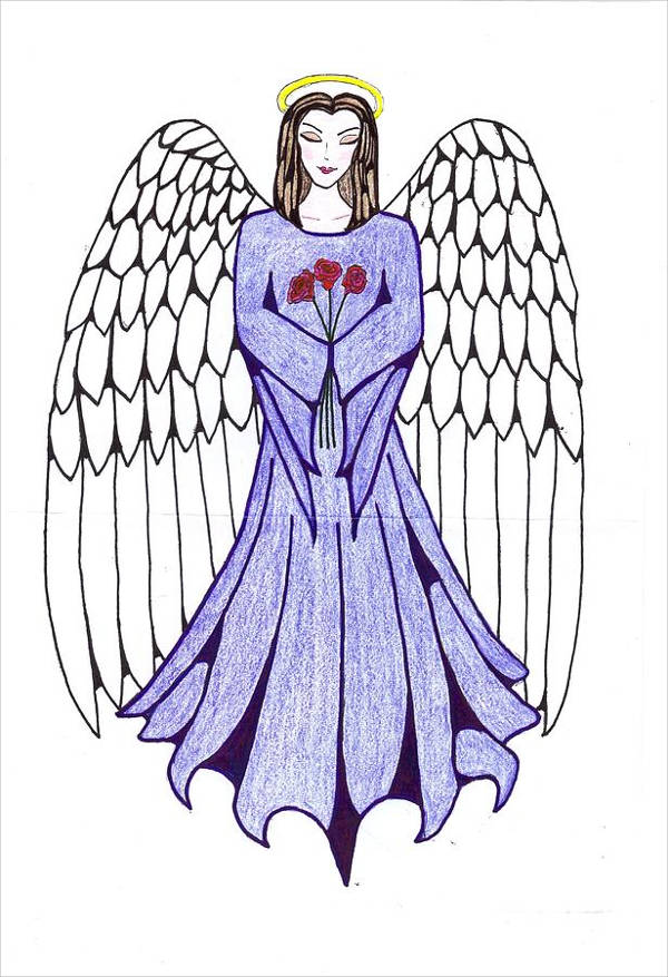 Guardian Angel Drawing