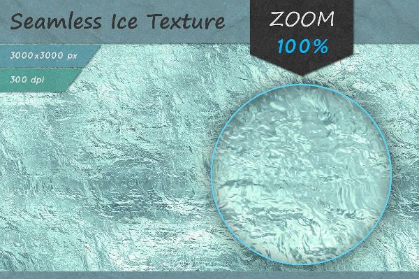 HD Ice Texture Design