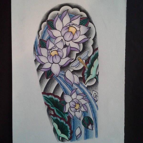 Half Sleeve Tattoo Drawing