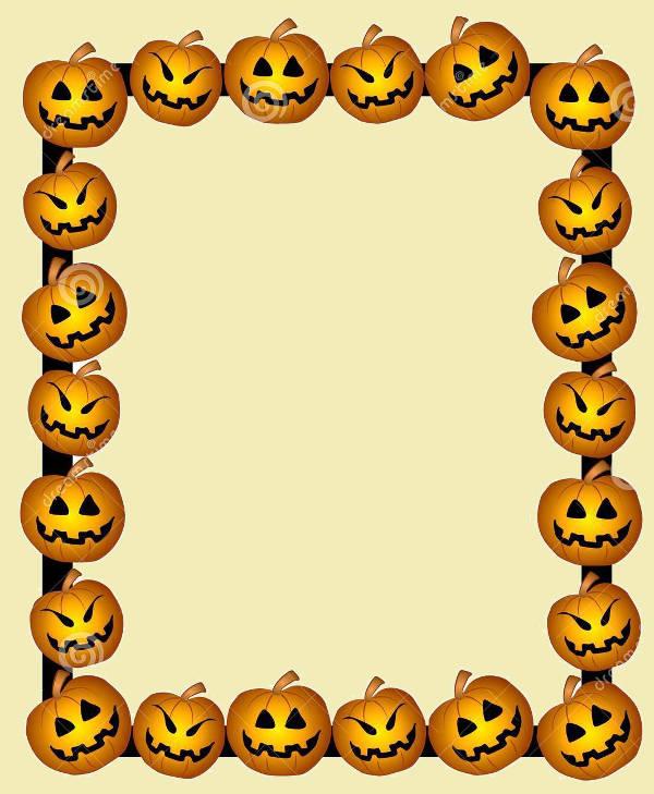 Halloween Clip Art Border