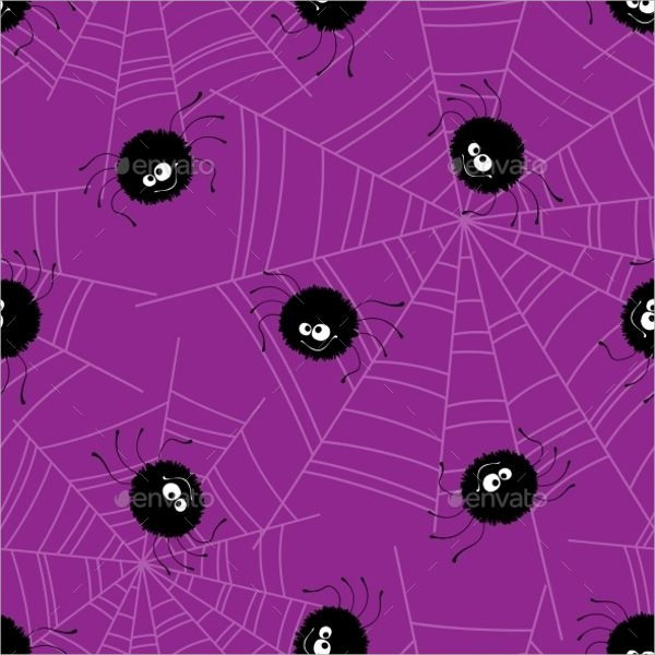 Halloween Silhouette Pattern