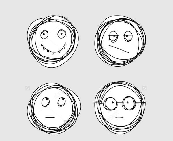 Hand Drawn Emoji Design