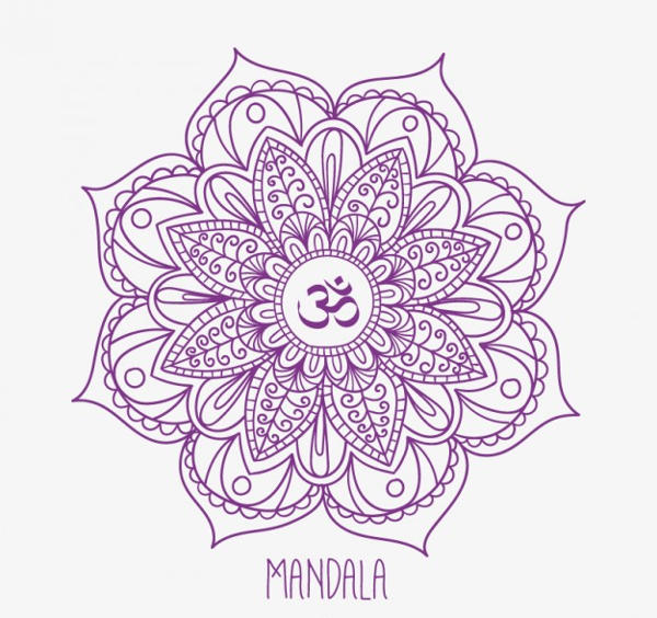 Hand Drawn Mandala Pattern