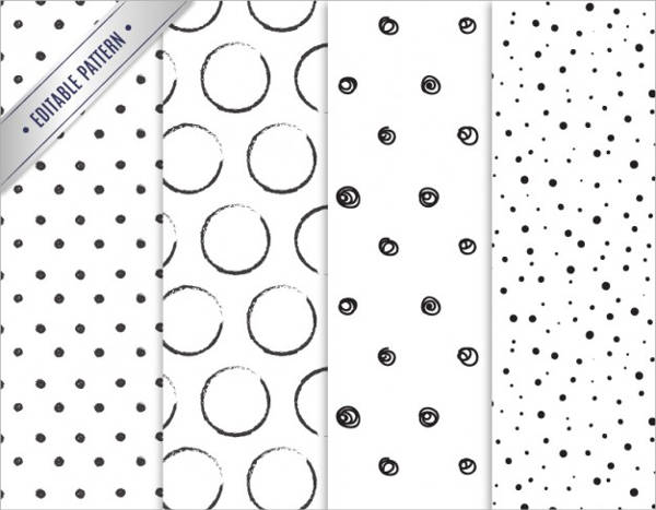Hand Drawn Polka Dot Pattern