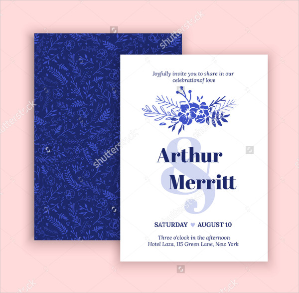 Handmade Engagement Invitation Design