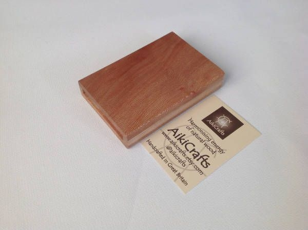 Handmade Wooden Business Card Design