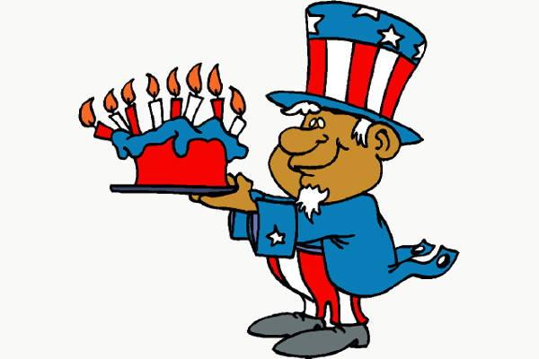 happy birthday cartoons clip art