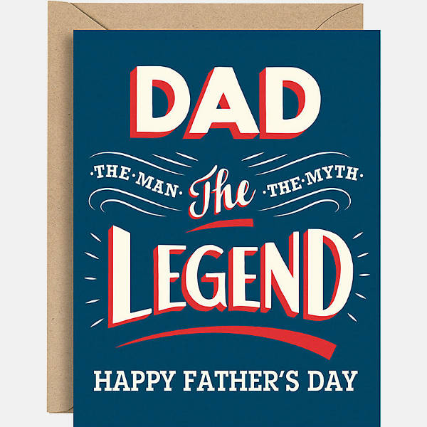 Happy Fathers Day Printable Card