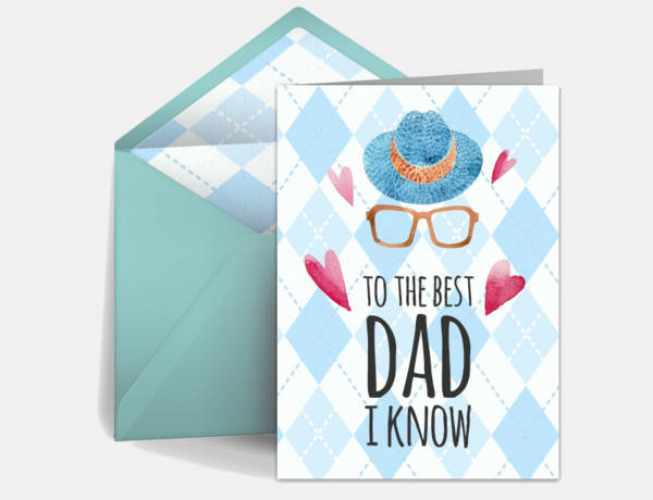 Happy Fathers Day Wishes Card