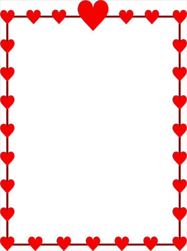 Heart Border Clipart