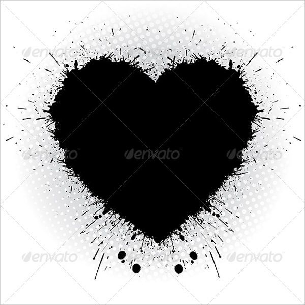 Heart Shape Silhouette