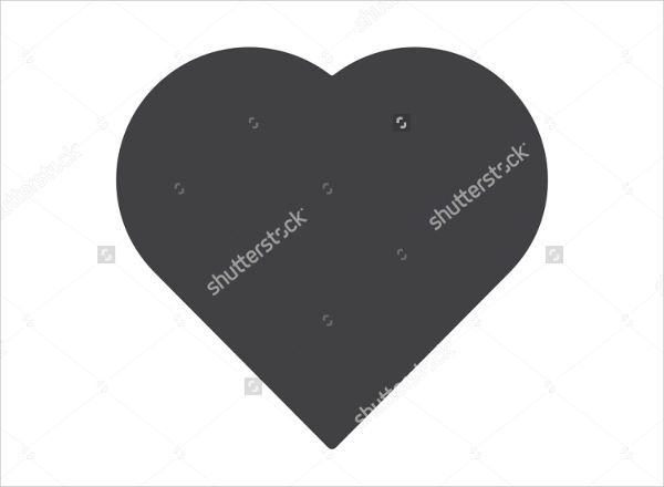 Heart Silhouette Clipart