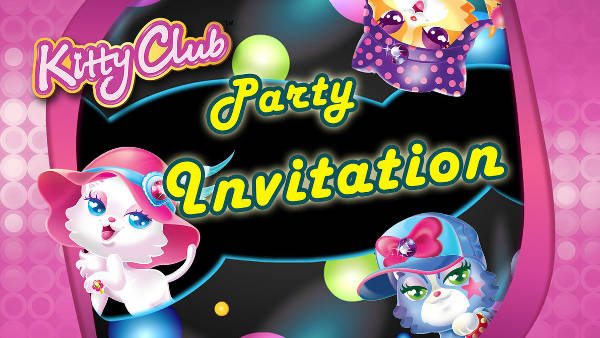 Hello Kitty Party Invitation