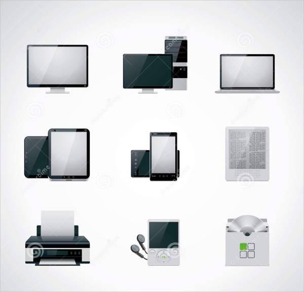 Highly Editable Computer icons