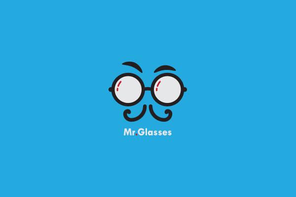 Hipster Moustache Logo