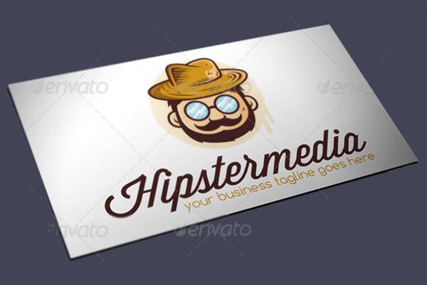 Hipster Vector Logo