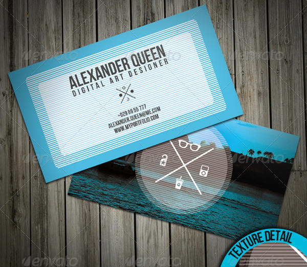 Holiday Inspired Business Card