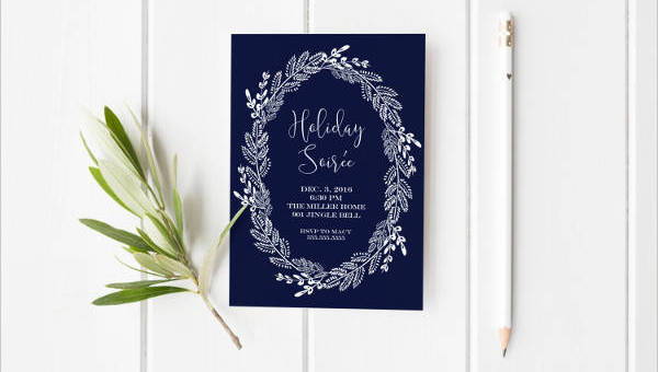 11 Holiday Party Invitation Designs