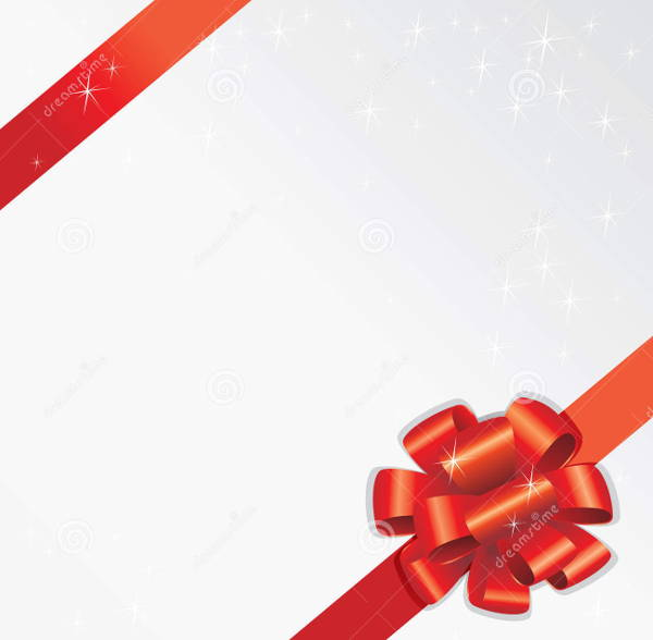Holiday Ribbon Vector