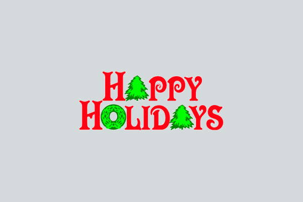 Holidays Wishes Clip Art