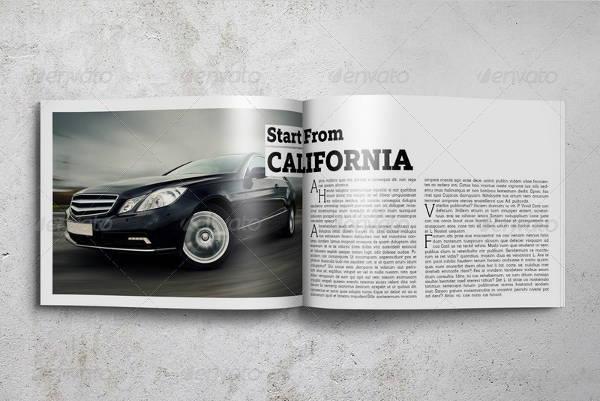 Horizontal Magazine Mockup