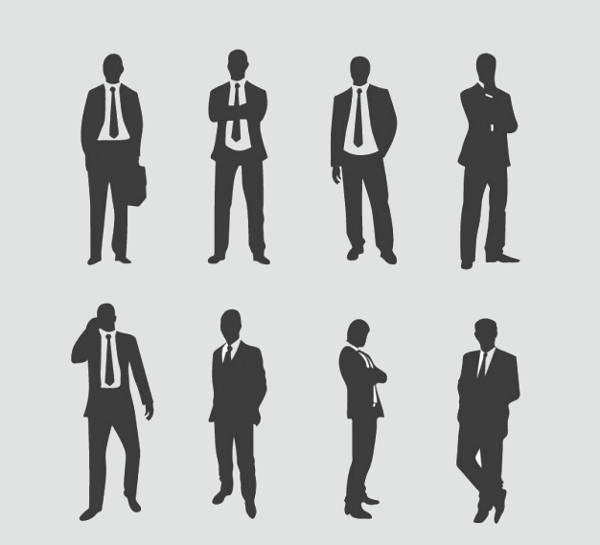 Human Standing Silhouette