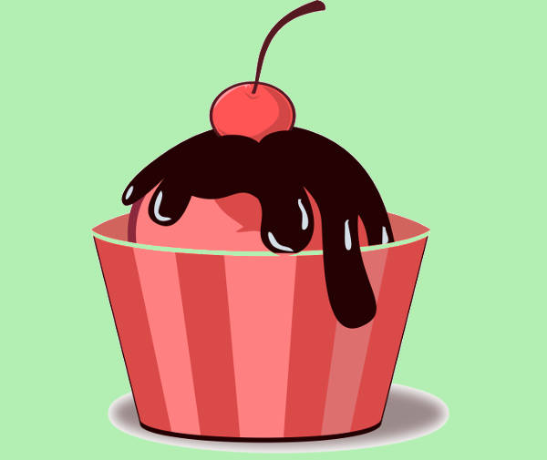 Ice Cream Cup Clipart