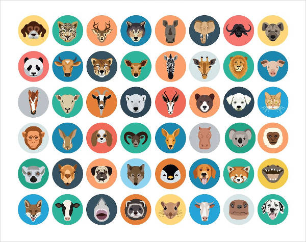 Icons Vector Flat