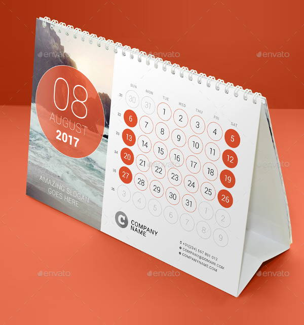 Calendar Inspiration Design : Desk calendar designs