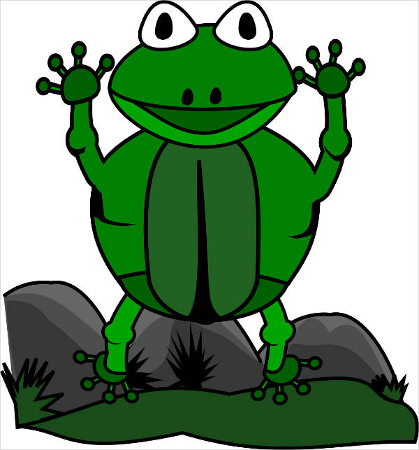 Jumping Frog Clipart