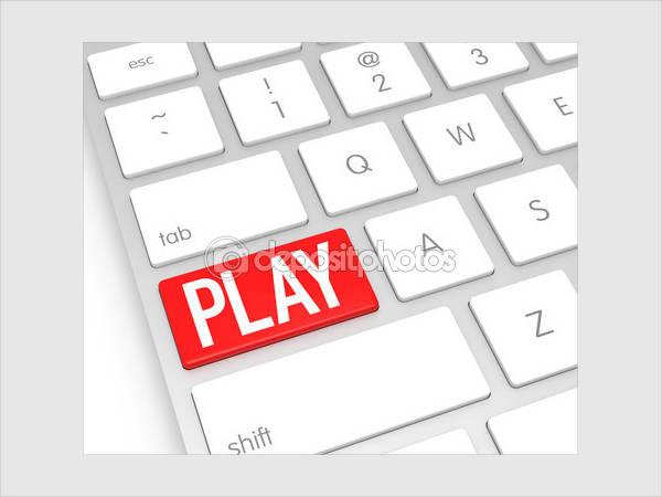 Keyboard Play Button