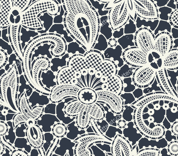 Lace Fabric Pattern Design