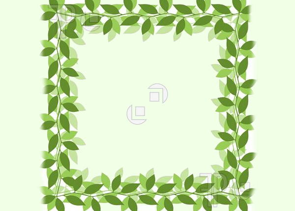 Leaf Border Clip Art