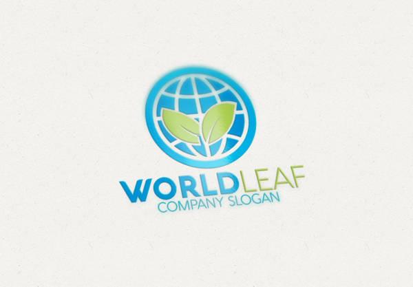Leaf Logo for Company