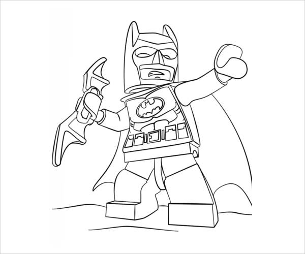 Coloring Pages Batman Lego  Coloring Pages For Kids and All Ages